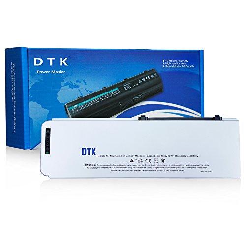 Dtk® Ultra Hochleistung Notebook Laptop Batterie Li-ion Akku für Apple A1281 A1286 Macbook Pro 15