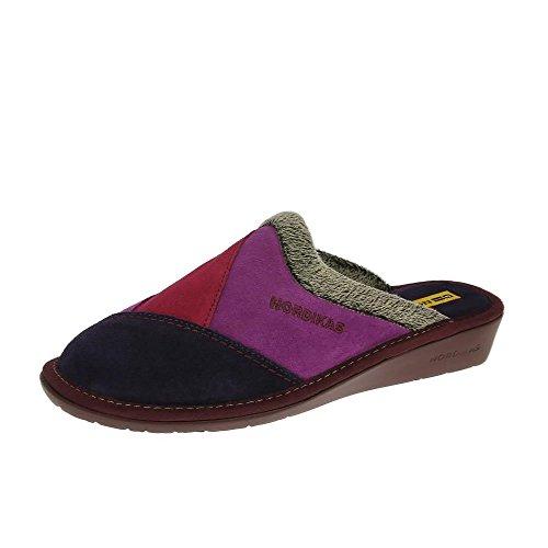 Nordikas Nordika Womens Pantofole 4507/8 Plus Porpora EU36 Purple