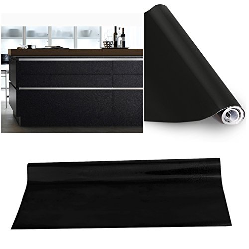 kinlor-folie-kuche-schwarz-61x500cm-aus-hochwertigem-pvc-material-aufkleber-fur-schrank-tapeten-kuch