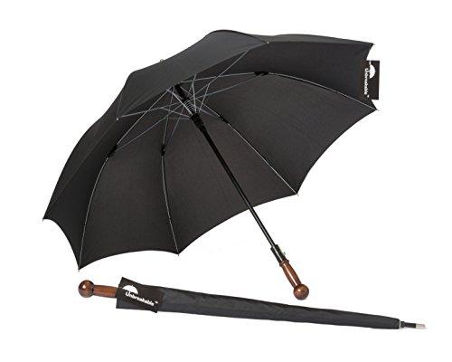 Selbstverteidigungsschirm eleganter Regenschirm, erlaubtes und unauffälliges Verteidigungshilfsmittel