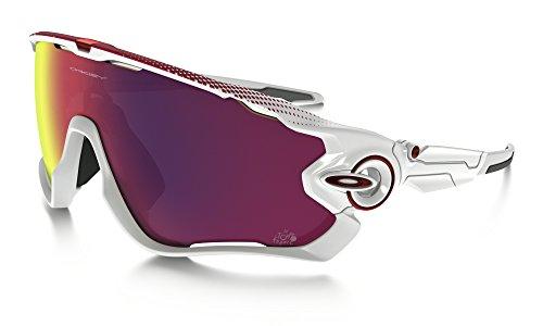 Oakley 9290-18 Occhiali Da Sole Jawbreaker, Colore Bianco