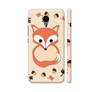 Colorpur Fox In Autumn Artwork On YU Yunicorn Cover (Designer Mobile Back Case)   Artist: VanessaGF