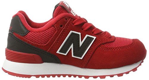 New Balance Unisex-Kinder Kl574cxg M Sneakers Rot (Red)