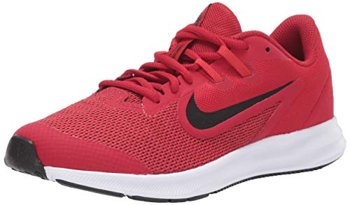 Nike Downshifter 9 GS, Walking Shoe Unisex-Child, Gym Red/Black/University Red/White, 38 EU
