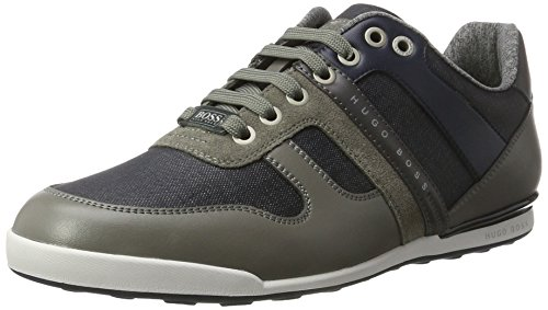 Boss Green Arkansas_Lowp_DNC 10199211 01, Sneakers Basses Homme Gris (Open Grey)