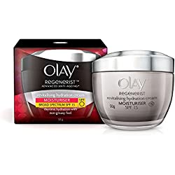 Olay Regenerist Advanced Anti-Aging Revitalising Hydration Skin Cream (Moisturizer) SPF 15, 50g