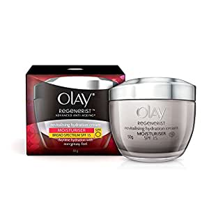 Olay Regenerist Advanced Anti Aging Revitalising Hydration Skin Cream/Moisturizer SPF 15, 50g