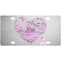 Nueva llegada. campaña contra el cáncer de mama lazo rosa fuerte y Durable aluminio coche