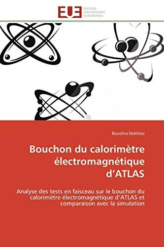 Bouchon du calorimètre électromagnétique d atlas