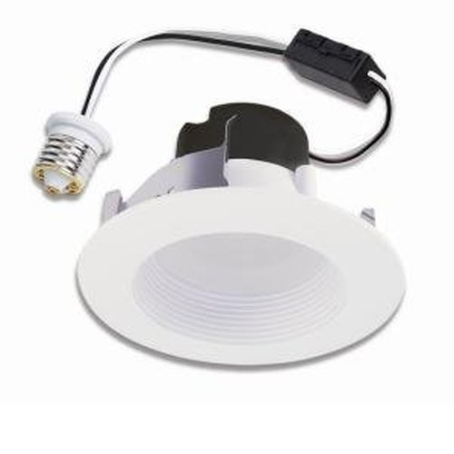 Retrofit-modul (Halo Recessed LED RL460WH830PK 4-Inch Retrofit Module and Trim, White, 80 CRI, 3000K by Halo Recessed)