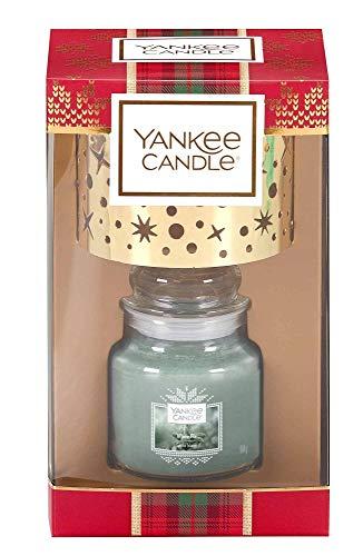 Scheda dettagliata YANKEE CANDLE - Set Regalo White Fir con Paralume, in Vetro, Multicolore, 18,5 cm