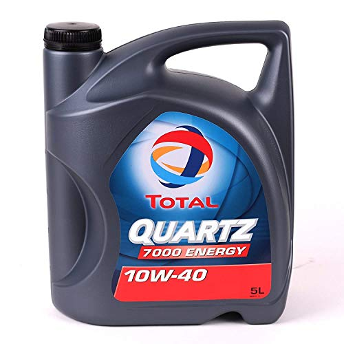 Total 5L Quartz 7000 Energy 10W-40 Aceites Motor Coches