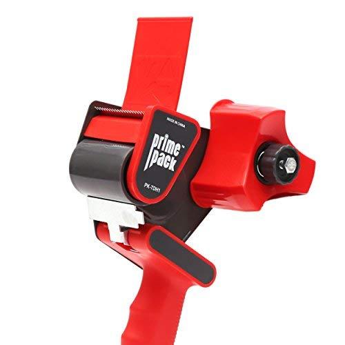 Abroller Pistole in Industriequalität Metallgehäuse - einfaches seitliches Beladen Design - langlebig und ergonomisch für Versand, Verpackung und Umzug ()