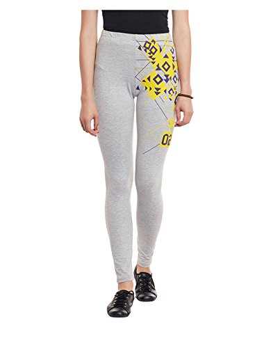Yepme Women's Grey Blended Leggings - YPWLGGN5138_S  available at amazon for Rs.174