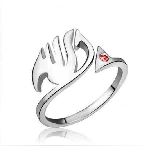(CoolChange Fairy Tail Ring aus echtem 925 Sterlingsilber)