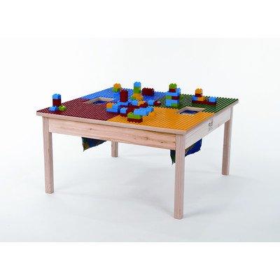 Duplo kompatibel Tisch 81,3x 81,3cm Made in den USA–Beine aus massivem Hartholz & Seite Frames gebaut, um letzten