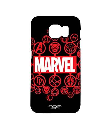 Macmerise Licensed Marvel Comics Marvel Comics Premium Printed Back cover Case for Samsung Note 5
