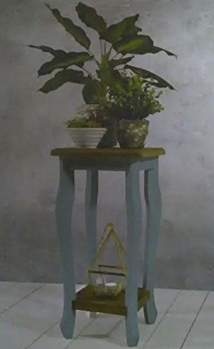LIFE DECO Table en Bois GUERIDON pour Plante Style Shabby Louis XV Baroque Campagne Console Entree OU Salon