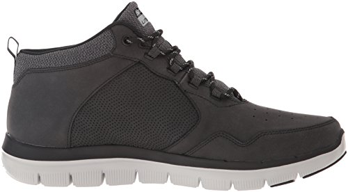 Skechers Flex Advantage 2.0, Sneakers Hautes Homme Noir (Black)