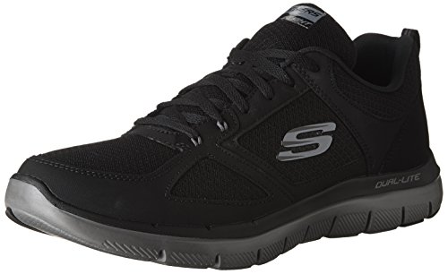 Skechers Men's Flex Advantage 2.0 Running Shoe Blk/Char 10.5 M US