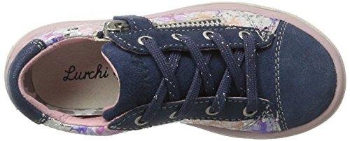 Lurchi Sanni, chaussons d'intérieur fille Mehrfarbig (Jeans)