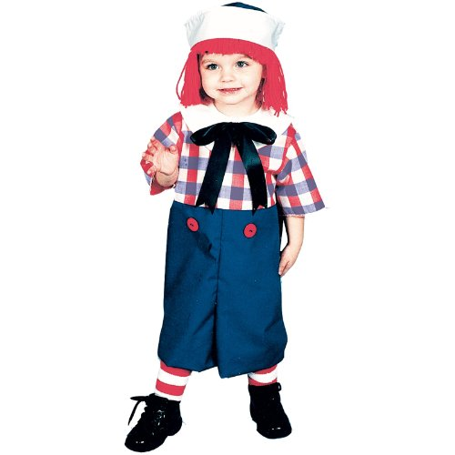 Raggedy Andy Toddler Costume, 4-6 (Raggedy Andy Kostüm)