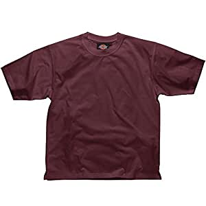Dickies SH34225 BY L Size Large T-Shirt - Bordeaux Red