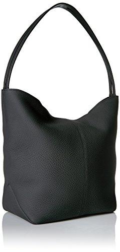 Ecco Ecco Jilin Hobo Bag, Sacs portés épaule Noir (Black)