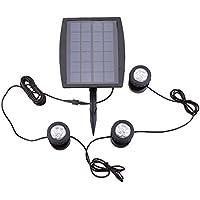 Lixada Luce ad energia solare/ proiettore/ riflettore/ lampada Colorful per prato, yard, albero, piscina, stagno, 28 LED