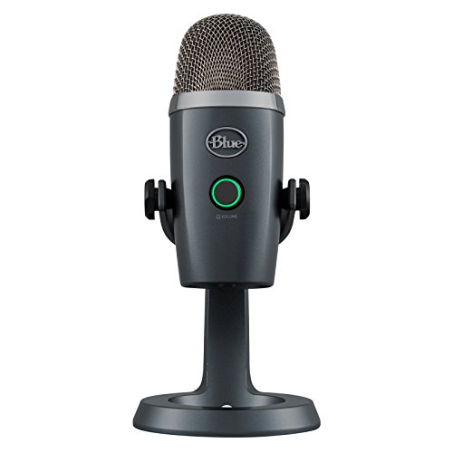Blue 281 Yeti Nano Premium USB Mikrofon, Shadow Grau