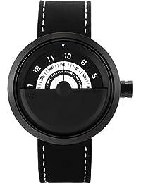 Shark SH424 Reloj Cuarzo Bonnethead Shark Creativo Hombre Dial Blanco
