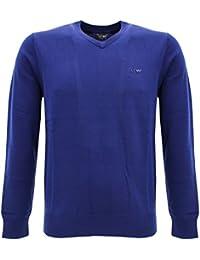 Jersey para hombre Armani Jeans mens sweater 06w28 vk 08-blue Blu aviazione L