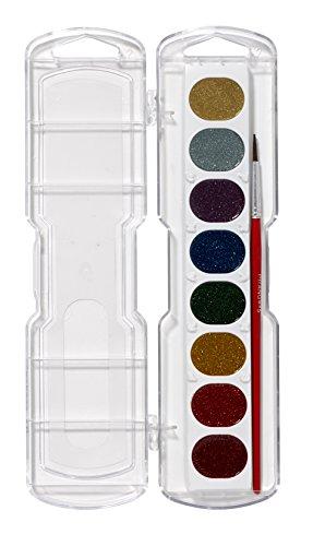 (Prang waschbar Aquarell Set Mal-Set, 8 Farben NA Glitzerfarben)