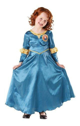 Karneval Kinder Kostüm Brave Merida Classic an Fasching Größe M (Brave Merida Kostüme)