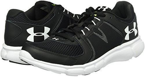 Under Armour Thrill 2, Men Running Shoes, Black (Black), 9 Uk (44 Eu)