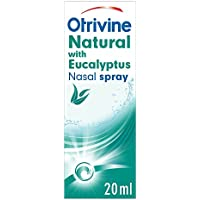 Otrivine Natural Nasal Spray with Eucalyptus, 10 ml, Congestion Relief