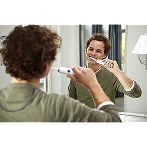 Philips Sonicare CleanCare Cepillo dental eléctrico sónico HX3212/61 - Cepillo de dientes eléctrico (Batería, Integrado, 110 - 220, Níquel-metal hidruro (NiMH), 2 pieza(s), 2 pieza(s))