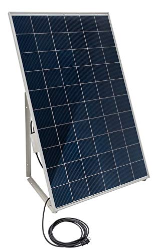 Home-Solar-Modul 280Wp, produziere deinen eigenen Strom auf Balkon, Garten, Fassade, Terrasse, Dach, etc. mit unserem hochwertigen Balkonkraftwerk (HSM + Ständer + Anschlusskabel'Schuko' 5m)