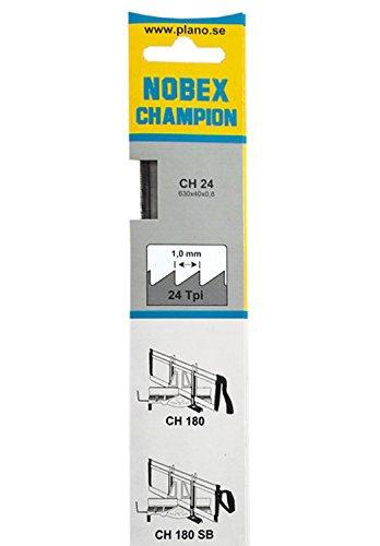 Nobex 0080034 Lame de scie à onglet CH24-630 mm pour coupes fines bois