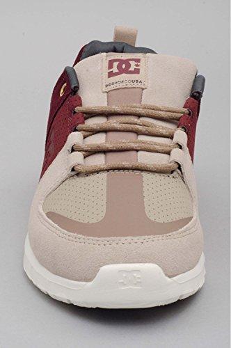 DC Shoes  Herren Schuhe Lynx Lite Se, Chaussures de Skateboard Homme BURGUNDY TAN