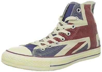 Converse  Chuck Taylor All Star Uk Canv Hi,  Sneaker unisex bambino, Blu (Blau (BLEU/ROUGE/BLANC)), 28