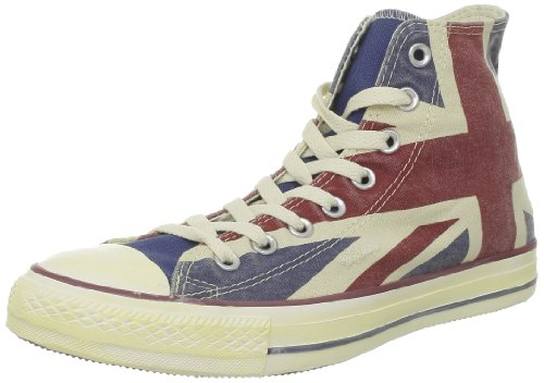 Converse Chuck Taylor All Star Junior Uk Cvs Hi 310180 Unisex - Kinder Sneaker Mehrfarbig (UK Flag)