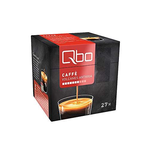 Tchibo Qbo Caffè Volcanes Antigua Kapseln, 216 Stück – 8 x 27 Kapseln (Kaffee, bittersüße...