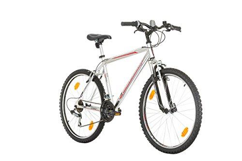 "41wFV Cr WL - CoollooK OPTIMUM Bicycle 26"" MAN, mountain bike, ALLOY wheels 18 speed Shimano WHITE GLOSS"