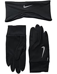 Nike Herren Dri-Fit Men's Running Headband/Glove Set Stirnband/Handschuhe
