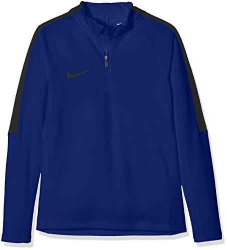 Cuir Top SQD e Nike-Maglietta a maniche lunghe da uomo Azul (Deep Royal Blue / Black / Black)