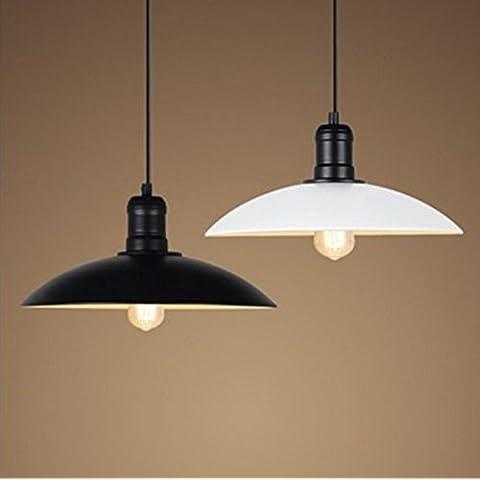 LYNDM Il Nordic Industrial coperchio minimalista retrò , nero , ristorante lampadari indegno lampadina
