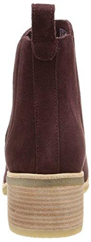 Clarks Originals Phenia Cresent, Boots femme Rouge (Wine Suede)