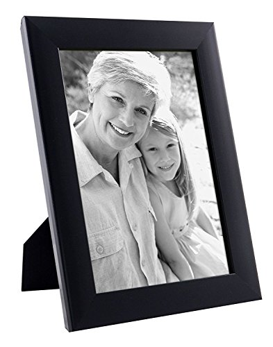Black Picture Frame 6 inch x 4 inch by paper Plane Design