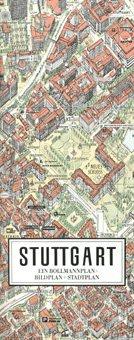Stadtplan Stuttgart in 3D von Bollmann